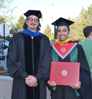 With Dr. Marc Beutel- Professor at UC MERCED_May 2015
