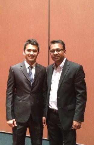 With Dr. Sahadat Hossain- Professor at UT Arlington_January 2016