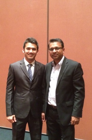 With Dr. Sahadat Hossain- Professor at UT Arlington_January 2016
