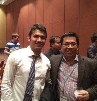With Dr. Mazhar Islam- Professor at Tulane University_January 2016