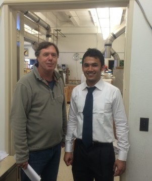 With Dr. Richard Watts_My MS supervisor at Washington State University_December 2014