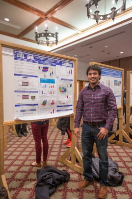 During the Eighth annual CEE research day, Virginia Tech, April 2018