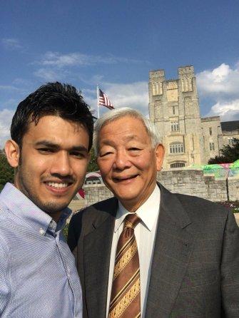 With Dr. Herbert Fang_Professor at University of Hong Kong, September 2019