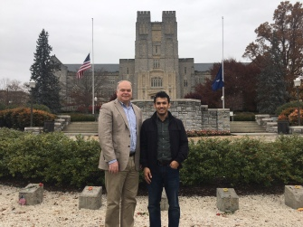 With Dr. Daniel H. Zitomer_Professor and Head at Marquette University, October 2019