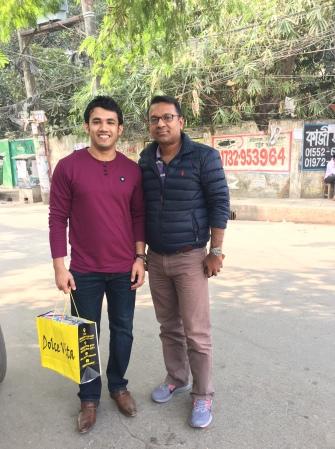 With Dr. Shahadat Hossain_Professor at UT Arlington_December 2018