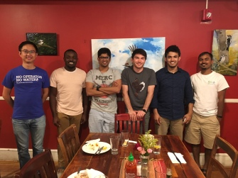 With Shiqiang, Mathew, Pranav, Nick, Me and Akshay (EBBL friends)_July 2018